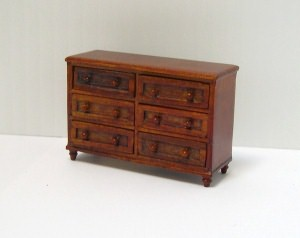 24th scale spice chest of drawers