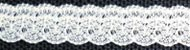 "Nylon angel lace, 3/8"" wide (9.5mm) - ecru"