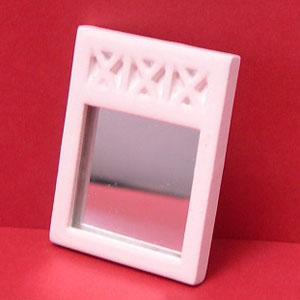 24th scale white X mirror