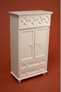 Ashley armoire - white