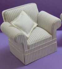 Cara natural armchair