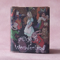 """Alice in Wonderland"" book - small size"
