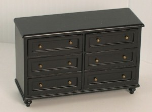 Ashley ebony chest of drawers