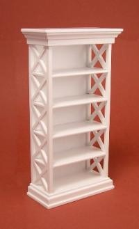 Ashley bookcase - white