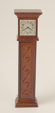 Ashley grandfather clock - spice