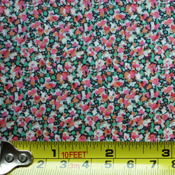 100% cotton Liberty Pepper tana lawn - pink and green