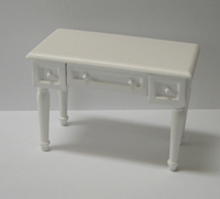 12th scale Ashley desk - white