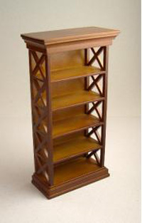 Ashley bookcase - spice