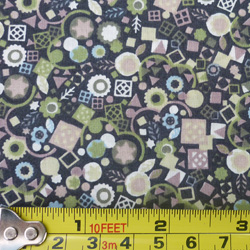 100% cotton Liberty fabric square