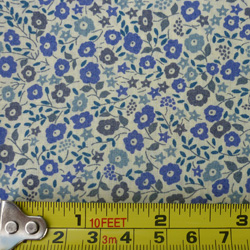 100% cotton Liberty Fairford tana lawn - blue