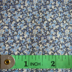 100% cotton Liberty Pepper tana lawn - blue