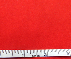 100% cotton fabric, red
