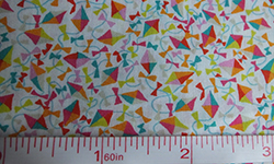 Liberty dancing kites print cotton fabric