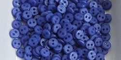 4mm buttons - mid blue