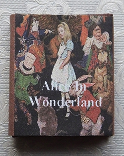 """Alice in Wonderland"" book - large size"