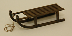 Traditional wooden sledge (kit)
