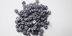 4mm buttons - grey