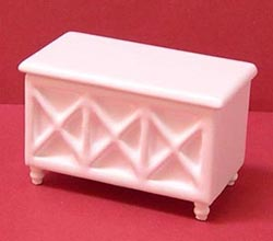 24th scale toy box - white