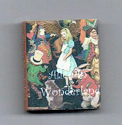 "24th scale book - Lewis Carroll ""Alice in Wonderland"""