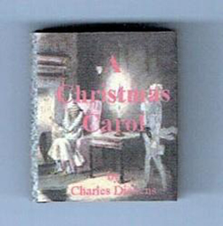 "24th scale book - Charles Dickens ""A Christmas Carol"""