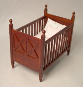Ashley spice cot - pink bedding
